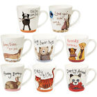 Churchill Alex Clark Sparkle China Mugs Bears Panda Dogs Tiger Gift Tea Coffee
