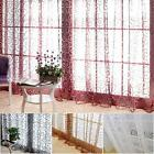 Door Window Curtain Drapes Panel Scarf Assorted Scarf Sheer Voile Valances Chic