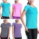 Women Ladies Short Sleeve Workout Fitness Gym Running T-Shirt Active Sports Top