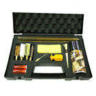 BISLEY COMPREHENSIVE SHOTGUN CLEANING KIT 12 20 GAUGE ROD BRUSH MOP SNAP OIL