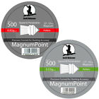 NICKERSON MAGNUM POINTED AIR RIFLE PISTOL PELLETS .177 .22 HUNTING SHOOTING NEW