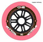 Atom One Pink Outdoor Inline Speed Skate Wheels - Set of 6