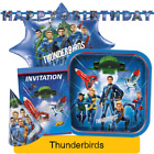 THUNDERBIRDS Are Go Kids Birthday Party Range (Tableware Balloons & Decorations)