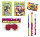 Piñata Accessories & Fillers - Party Game - Stick/Toys/Sweets/Candy/Blindfold