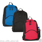 UK Classic Backpack Rucksack College Shoulder School Book Bag Black Red Blue