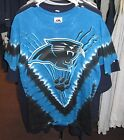 Carolina Panthers Tye Dye Design T-Shirt - New - Free Shipping