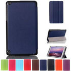 """Folio Leather Case Stand Cover Skin For Nvidia Shield Table K1 8"""" Tablet PC Case"""