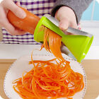 Vegetable Fruits Spiral Shred Process Cutter Slicer Peeler Julienne Cutter Tool