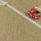 Fashion Ivory Crochet Lace Fabric Trim DIY Decorative Ribbon Sewing Wedding Dess