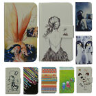 For Sony Cell Phone PU Leather Holder Case Cover&Card Wallet W/ Cartoon Pattern