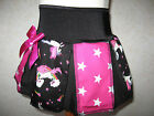 New Black Pink White Unicorns Rainbow stars   Pleated Party Skirt  Retro  Dance