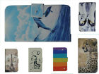 For HTC  Mobile Phone PU Leather Holder Case Cover Skin&Wallet W/ Lovely Pattern