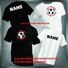 Soccer, Like Game, Love Player Personalize T-Shirt All Adult Sizes XS - 6XL_