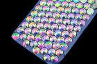 100 pcs Sew On Crystal Rhinestone Round AB Faceted Glass Jewels Dress 8mm~18mm