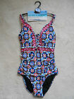 M&S Pink Mix Floral Print Padded Secret Slimming Swim Costume(NEW) Size 8 £35.00