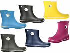 Crocs Jaunt Shorty Womens Short Wellie Slip On Boots