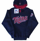 Minnesota Twins Majestic MLB Full Count Blue Pullover Hoodie Size Medium NWT on Ebay