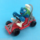 SCHTROUMPF KART 40218  NEUF GERMANY CE PITUFO  SMURF PUFFI SCHLEICH