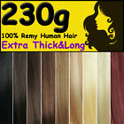 Promotion Mega THICK Clip in Remy Human Hair Extensions Full Head Weft AU Stock