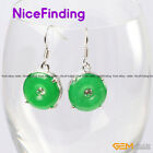 Fashion Jewelry 15mm Ring Carved Tibetan Silver Dangle Earrings For Gifts' Gift