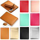 """Laptop Sleeve Case PU Leather Bag Cover For Apple MacBook Pro/Air 11 12"""" 13"""" 15"""""""