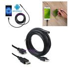 Micro USB LED Android Cellphone & PC Endoscope Borescope Inspection Camera Tab