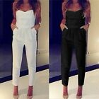 Women Summer Sleeveless Playsuit Casual Jumpsuit Romper Long Maxi Trousers Pants