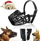 Pet Dog Adjustable Mask Bark Bite Mesh Mouth Muzzle Grooming Anti Stop Chewing 7