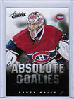 13/14 PANINI BOXING DAY HOCKEY ABSOLUTE GOALIES CARDS ( #1-17 ) U-Pick From List $1.49 USD on eBay