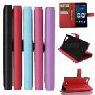 Litchi PU Leather Magnetic Wallet Slot Flip Stand Case Cover For Wiko Fever 4G