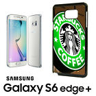 Starbucks Coffee Samsung Galaxy S6 Note 3 4 Phone RUBBER Edge Case Tea Lover
