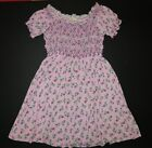 Matilda Jane girls pink floral Shakespeare Emilia Amilia Emelia lap dress 10