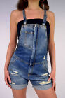 FORNARINA Jeans Dungarees THELMA Shorts Overalls NEW
