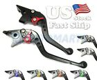 US Stock! 9 Colors Clutch Brake Levers for Triumph 675 STREET TRIPLE R RX 09-15 $24.99 USD