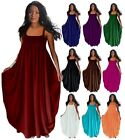 DRESS ELASTIC MAXI SPAGETTI WOMENS MADE TO ORDER LotusTraders MISSES PLUS Y1460