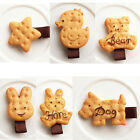 1X Funny Girls Biscuit Hair Clips Kids Hair Accessories Costume Party Decor
