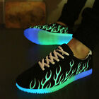 New Flashing Low-cut Luminous Unisex Sportswear Fluorescence Shoes Casual Shoes
