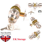 Top Quality Stainless Steel Door Knobs Handle Set Passage Entrance Privacy UK