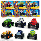 Blaze And The Monster Machines Model Cars Vehicles Trucks Nickelodeon Toys Gift