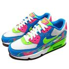 Nike Air Max 90 Print Mesh GS Multi-Color Kids Youth Running Trainers 833497-400
