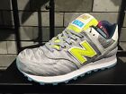 NEW BALANCE WL574 LIFESTYLE WL574SIA SUMMER WAVES SILVER LIME WOMEN SHOES