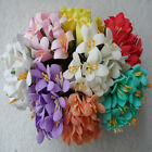 7 colors Simulation Flower bouquet of blossoms Head Wedding wholesale 2 5 10set