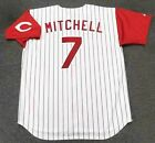 KEVIN MITCHELL Cincinnati Reds 1993 Majestic Throwback Home Baseball Jersey on Ebay