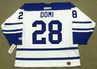 TIE DOMI Toronto Maple Leafs 2002 CCM Throwback NHL Hockey Jersey