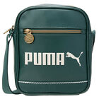 Puma Campus Portable Bag Green Single Shoulder Strap Mens Bags 072631 06 D