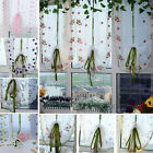 1Pcs Window Kitchen Bathroom Lifting Roll Up Rome Curtain Screen Embroidered BKB