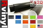 Rwraps Carbon Fiber 4D Vinyl Wrap Sheet Film Roll for Shift Knobs Pedals & More