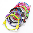 USB-C USB 3.1 Type C Braided Fast Charging Cable Data Sync For LG G5 HTC M10 LE