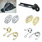 """MOTORCYCLE SOLO SEAT 3"""" SPRINGS BRACKET MOUNTING FOR Harley Chopper Bobber New"""