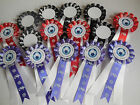 Football Party Rosettes Personalised For Little Boys Or Girls (name & Age)